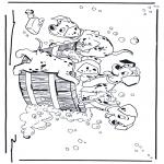 Stripfiguren Kleurplaten - 101 dalmatiers 2