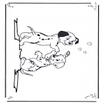Stripfiguren Kleurplaten - 101 Dalmatiers 3