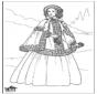 19e eeuwse dame 1