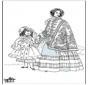 19e eeuwse dame 2