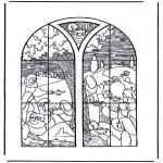 Kleurplaten Bijbel - 5 wijze en 5 dwaze meisjes