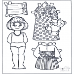 Knutselen - Aankleedpop 5