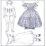 Knutselen - Aankleedpop en kleren 1