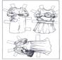 Aankleedpop kleren 3