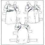 Knutselen - Aankleedpop kleren 6