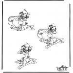 Knutselen - Af tekenen Winx 2