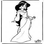 Stripfiguren Kleurplaten - Aladdin 9