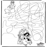 Knutselen - Aladdin Labyrinth