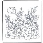 Allerlei Kleurplaten - Alfabet G
