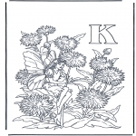 Allerlei Kleurplaten - Alfabet K