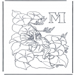 Allerlei Kleurplaten - Alfabet M