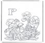 Alfabet P