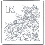 Allerlei Kleurplaten - Alfabet R