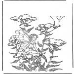 Allerlei Kleurplaten - Alfabet Y