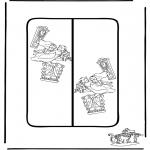 Stripfiguren Kleurplaten - Alice boekenlegger