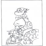 Stripfiguren Kleurplaten - Arthur en de Minimoys 1