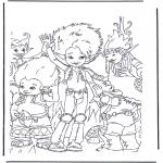 Stripfiguren Kleurplaten - Arthur en de Minimoys 2