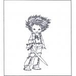 Stripfiguren Kleurplaten - Arthur en de Minimoys 3