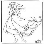 Stripfiguren Kleurplaten - Assepoester 13