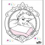 Stripfiguren Kleurplaten - Assepoester 15
