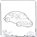 Allerlei Kleurplaten - Auto 2