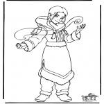 Stripfiguren Kleurplaten - Avatar 2