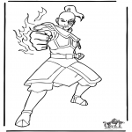Stripfiguren Kleurplaten - Avatar 4