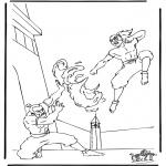 Stripfiguren Kleurplaten - Avatar 5