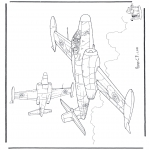 Allerlei Kleurplaten - Avro CF-100