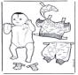 Baby aankleden