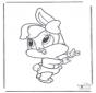 Baby bugs bunny