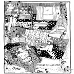 Knutselen - Baby kaart