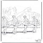 Allerlei Kleurplaten - Ballet 2
