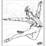 Allerlei Kleurplaten - Ballet 8