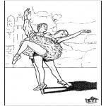 Allerlei Kleurplaten - Ballet 9