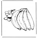 Allerlei Kleurplaten - Bananen