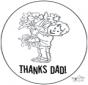 Bedankt papa 2
