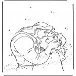 Stripfiguren Kleurplaten - Belle en het Beest 2