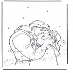 Stripfiguren Kleurplaten - Belle en het Beest 5