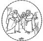 Bijbel borduurkaart 1