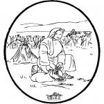 Kleurplaten Bijbel - Bijbel prikkaart 4