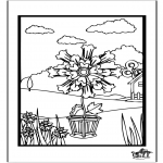 Allerlei Kleurplaten - Bloemen 4