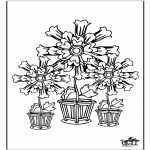 Allerlei Kleurplaten - Bloemen 5