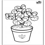 Allerlei Kleurplaten - Bloemen 6
