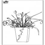 Allerlei Kleurplaten - Bloemen 7