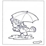 Kinderkleurplaten - Bobo 2