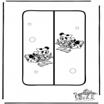 Knutselen - Boekenlegger 6