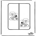 Knutselen - Boekenlegger 7