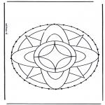 Knutselen Borduurkaarten - Borduurkaart 3