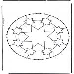 Knutselen Borduurkaarten - Borduurkaart 4